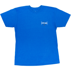 Never Summer Bolts Short Sleeve T-Shirt Royal Heather