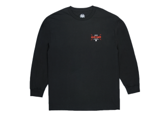 Never Summer Bolts Long Sleeve T-Shirt Black