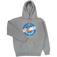 Never Summer Colorado Bolts Pullover Hoodie Gunmetal Heather