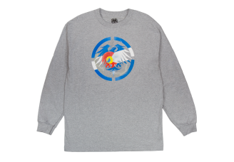 Never Summer Colorado Bolts Long Sleeve T-Shirt Athletic Heather