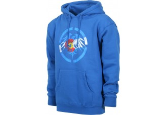 Never Summer Colorado Eagle Pullover Hoodie Royal Blue Heather
