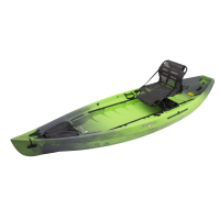 NuCanoe Frontier 12 Lime Camo w/ 360 Pinnacle Seat & Rigid 360 Base Low  2017