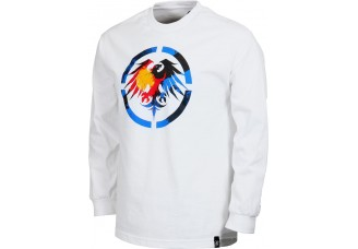 Never Summer Colorado Eagle Long Sleeve T-Shirt White