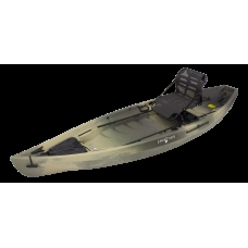 NuCanoe Frontier 12 Camo w/ 360 Pinnacle Seat & Rigid 360 Base Low 2017